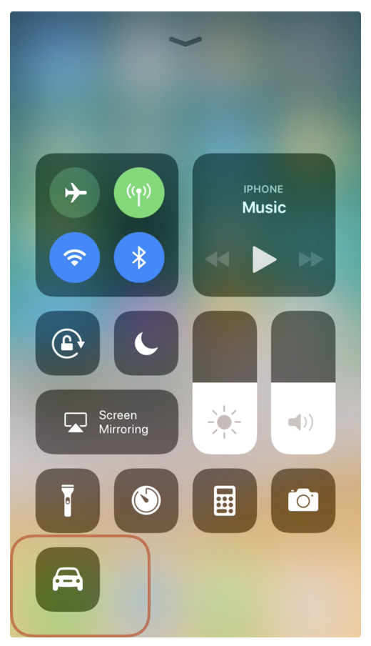 DNDWD in Control Center